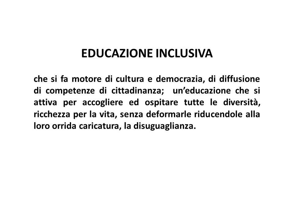EDUCAZIONE INCLUSIVA