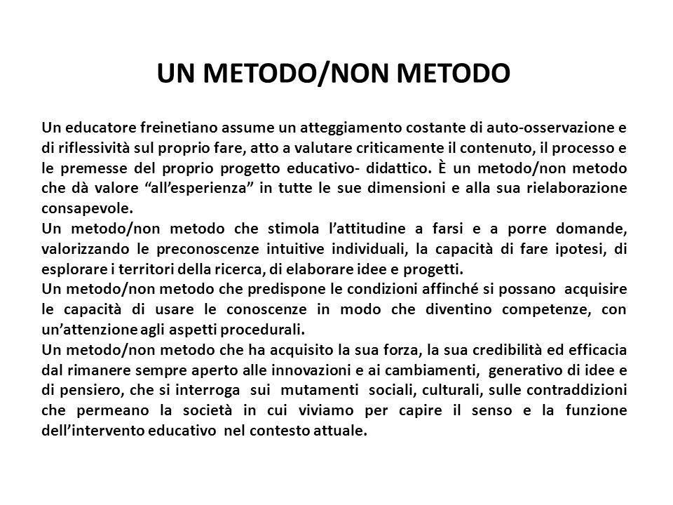 UN METODO/NON METODO