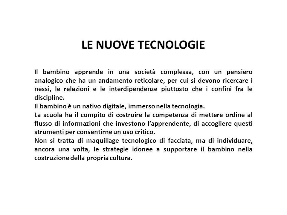 LE NUOVE TECNOLOGIE