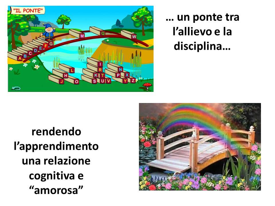 … un ponte tra l'allievo e la disciplina…