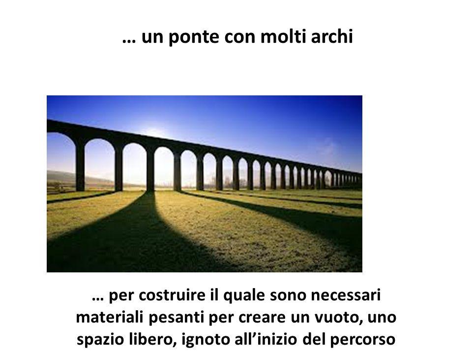 … un ponte con molti archi