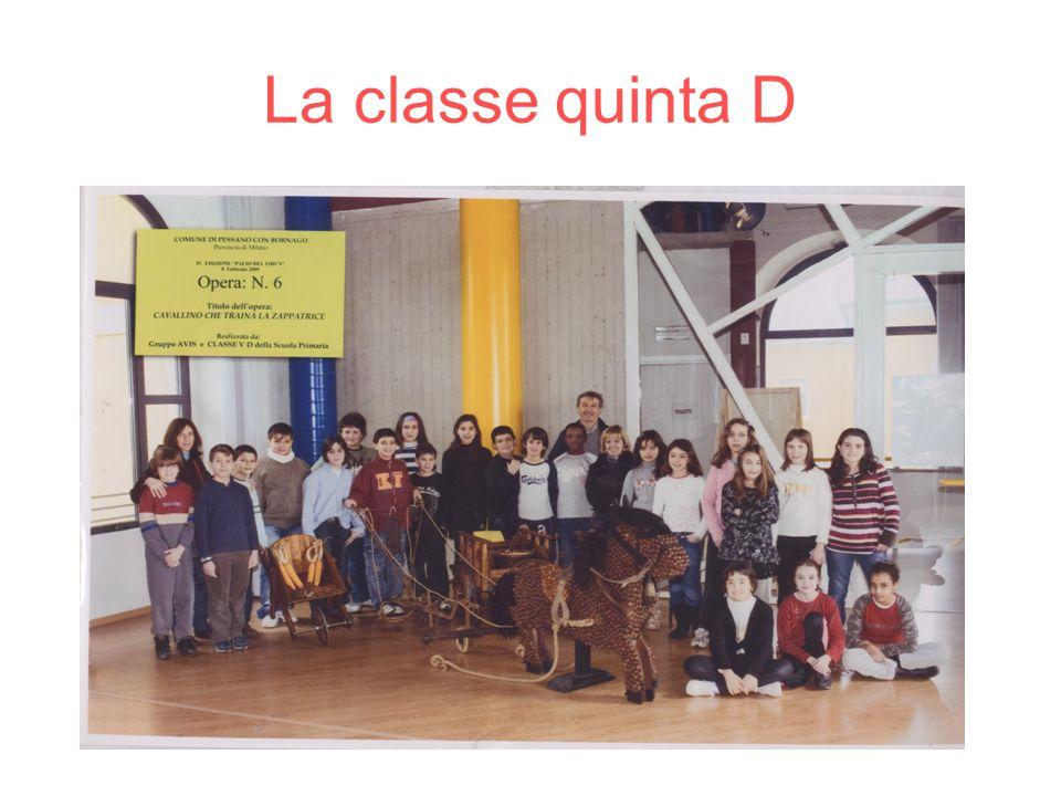 La classe quinta D