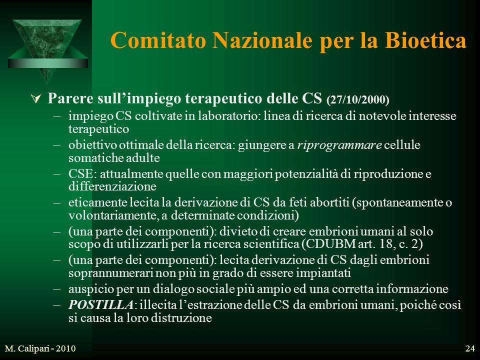 Comitato Nazionale per la Bioetica