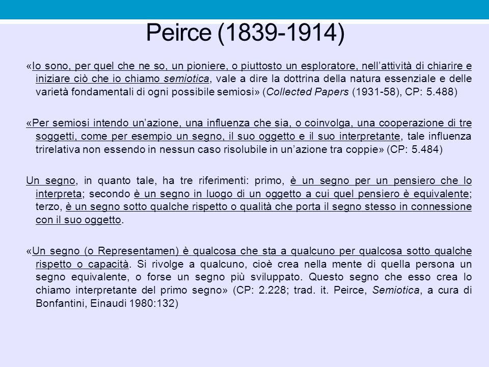 Peirce (1839-1914)