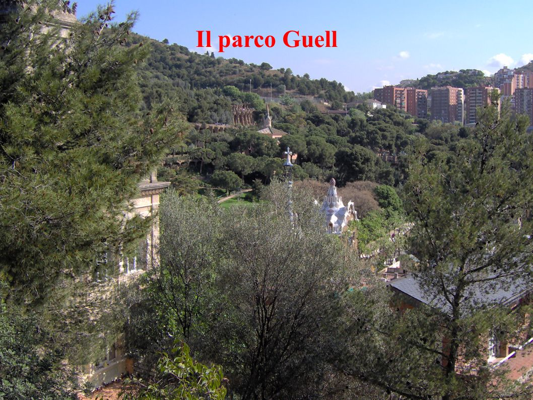 Il parco Guell