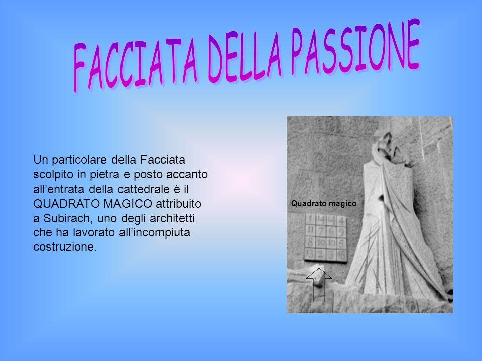 FACCIATA DELLA PASSIONE