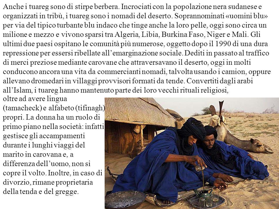 Anche i tuareg sono di stirpe berbera