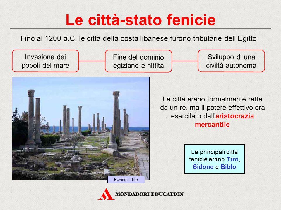 Le città-stato fenicie