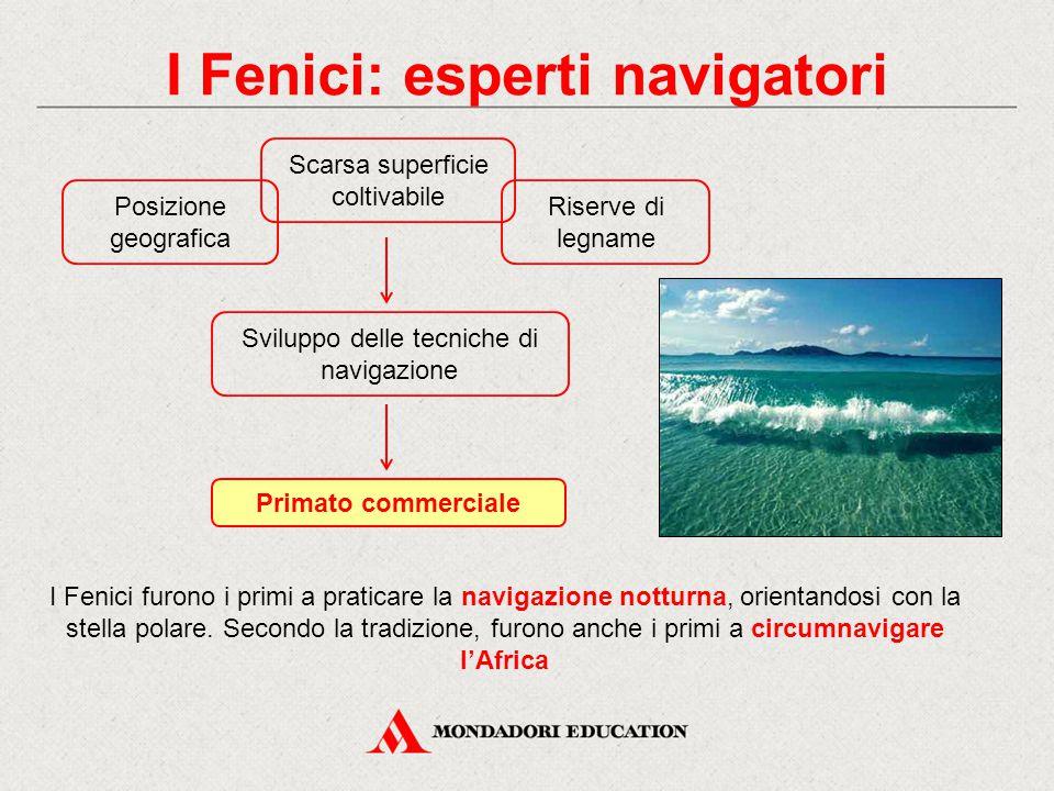I Fenici: esperti navigatori