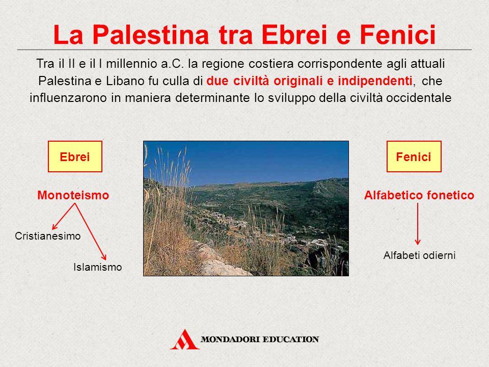 La Palestina tra Ebrei e Fenici