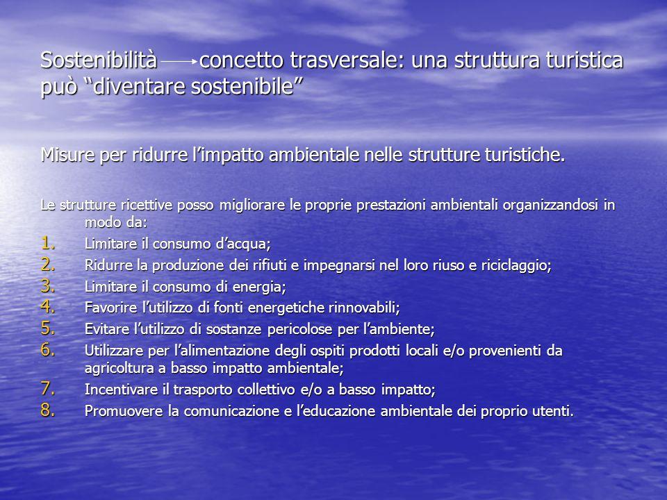 Sostenibilità concetto trasversale: una struttura turistica può diventare sostenibile