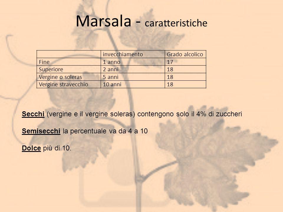 Marsala - caratteristiche