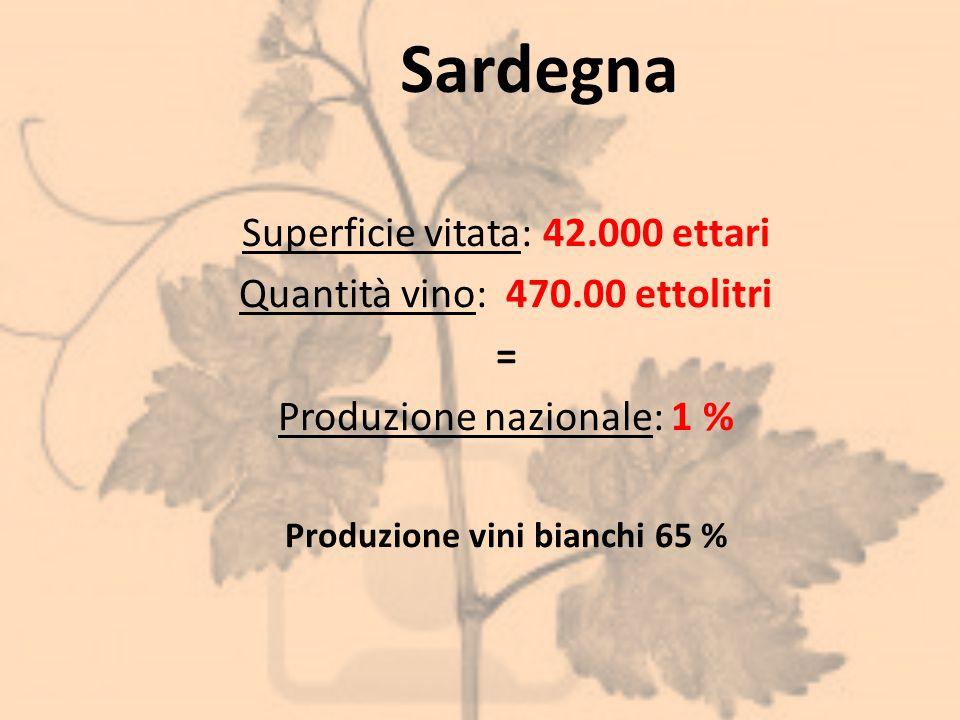 Produzione vini bianchi 65 %