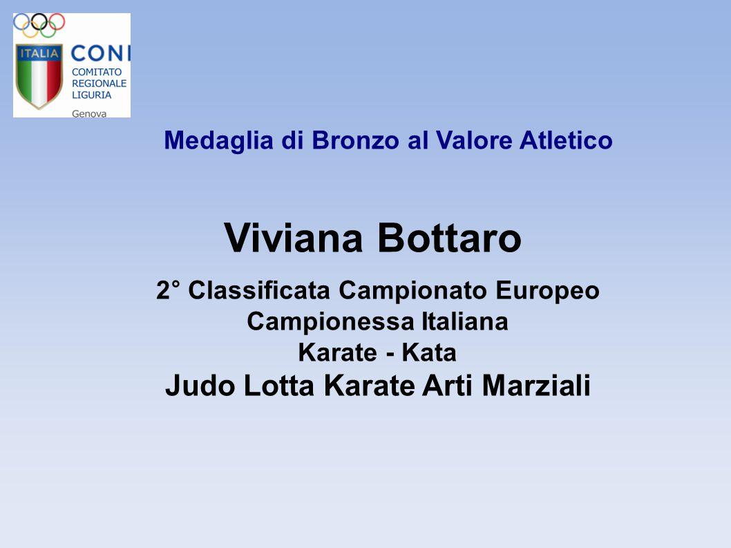 Viviana Bottaro Judo Lotta Karate Arti Marziali