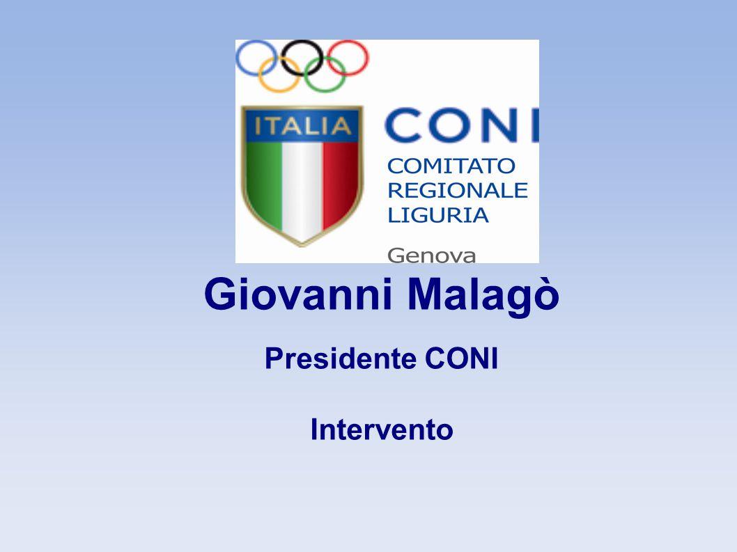Giovanni Malagò Presidente CONI Intervento 5 5 5 5