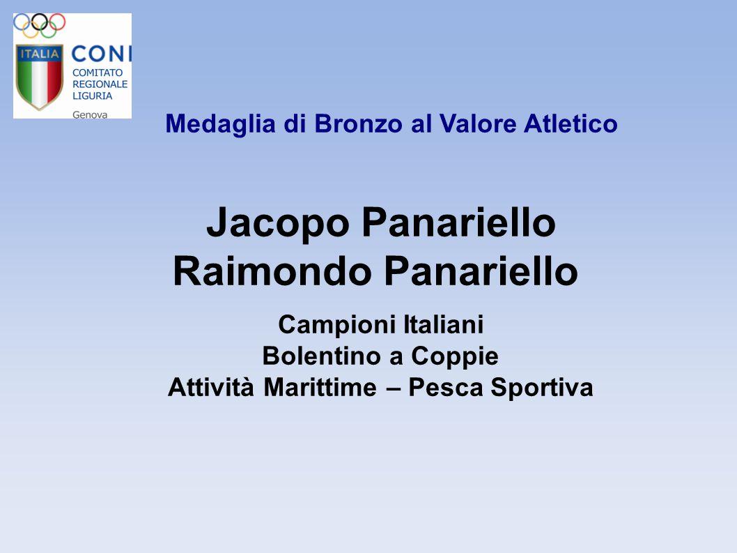Jacopo Panariello Raimondo Panariello