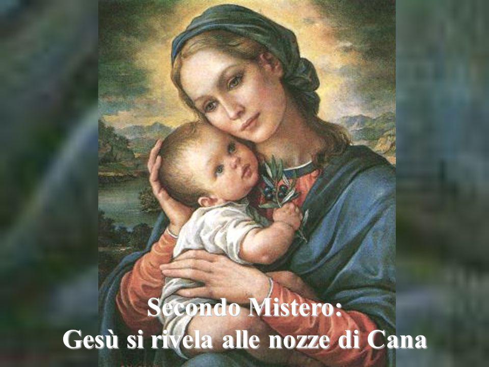 Gesù si rivela alle nozze di Cana
