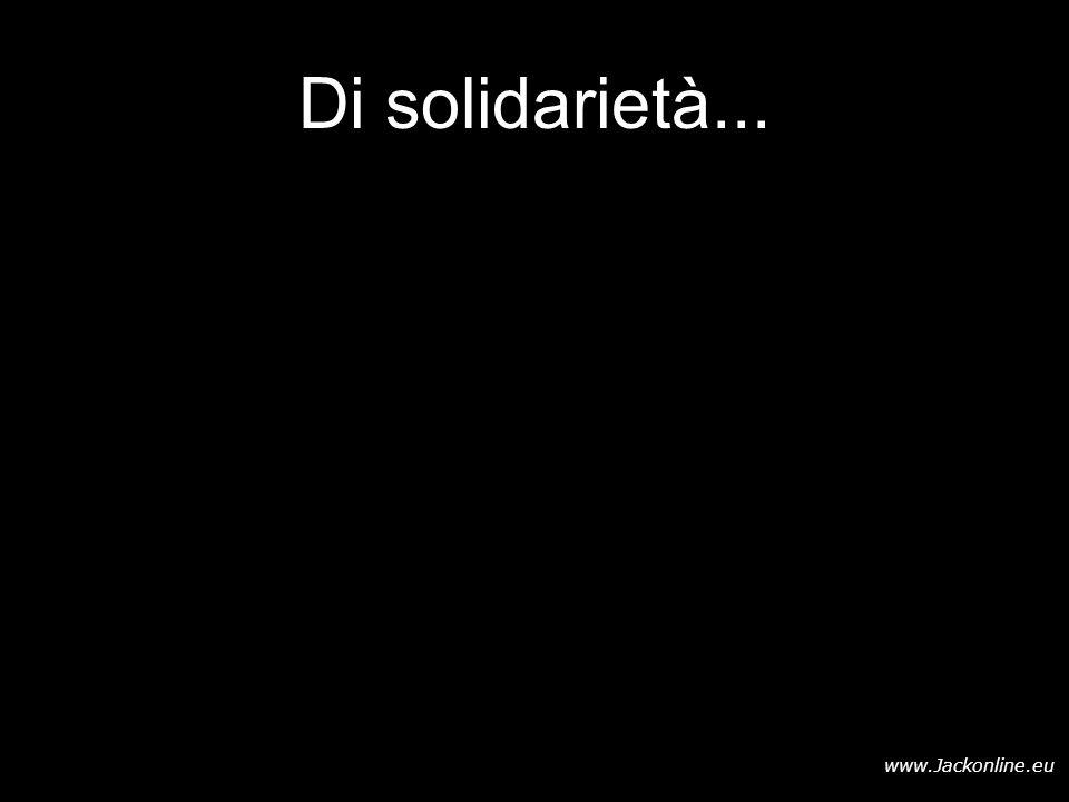 Di solidarietà...