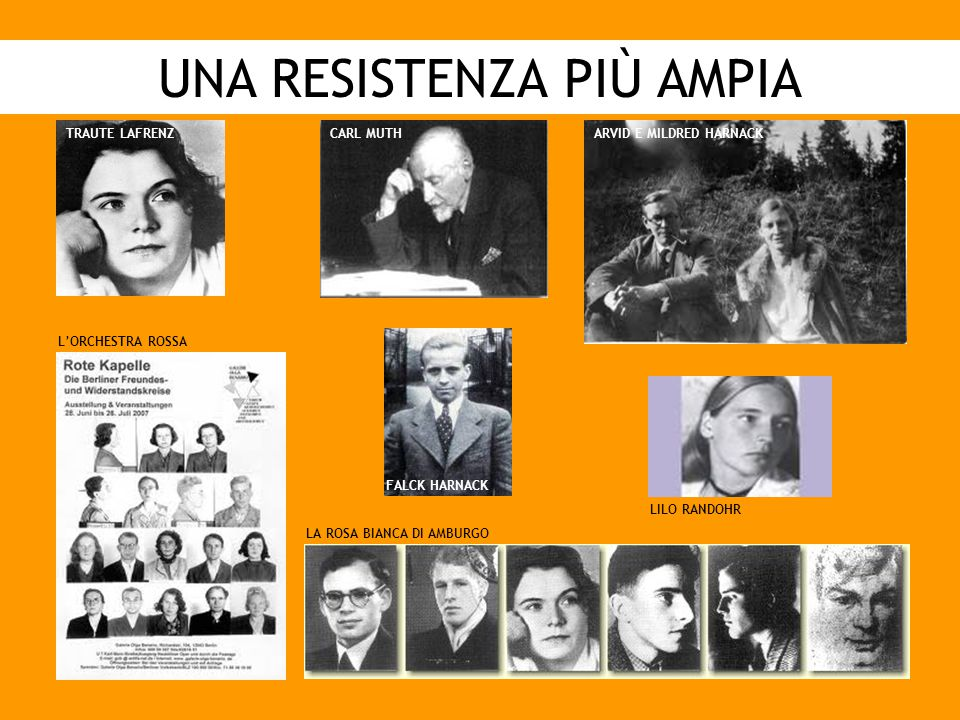 UNA RESISTENZA PIÙ AMPIA