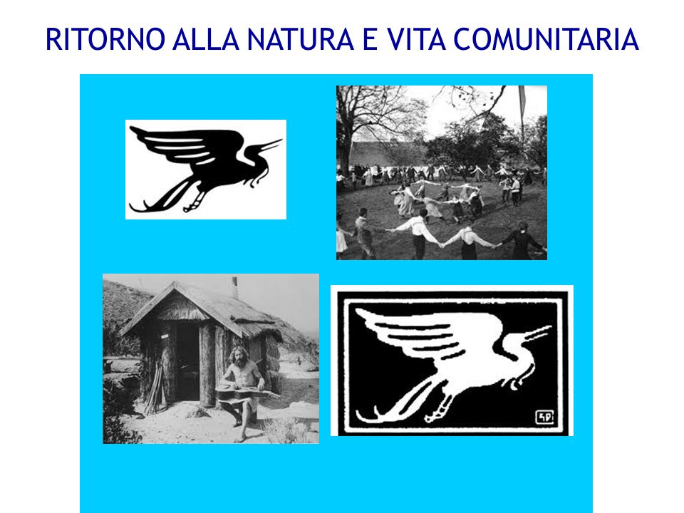 RITORNO ALLA NATURA E VITA COMUNITARIA