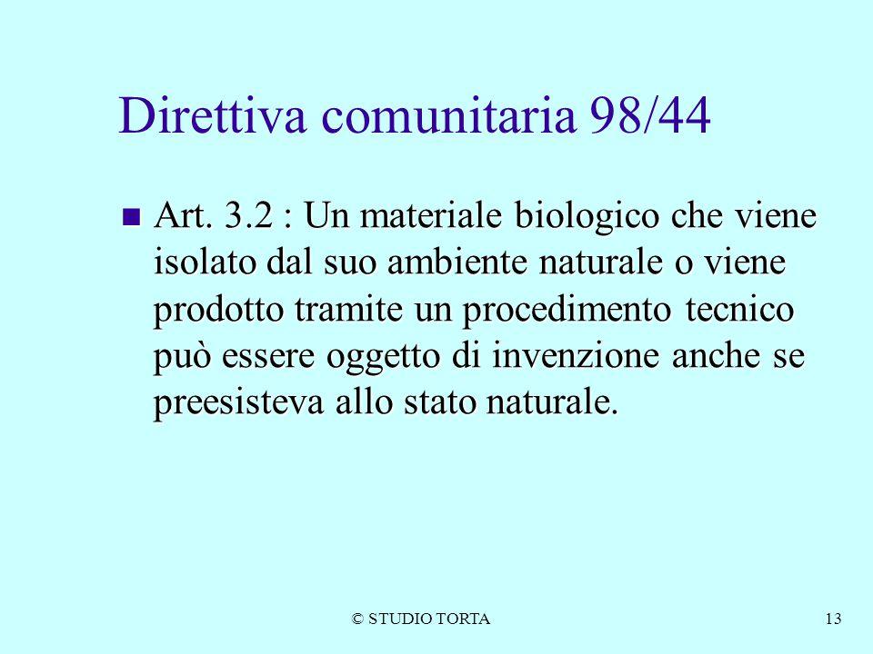 Direttiva comunitaria 98/44
