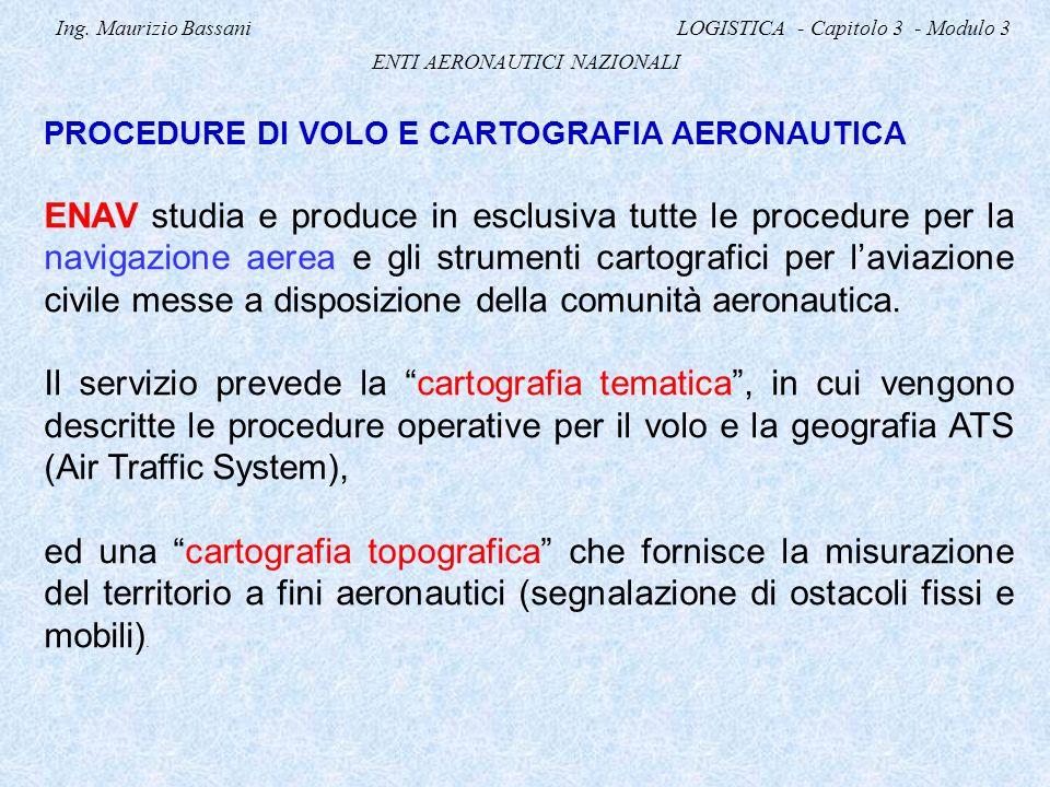 Ing. Maurizio Bassani LOGISTICA - Capitolo 3 - Modulo 3
