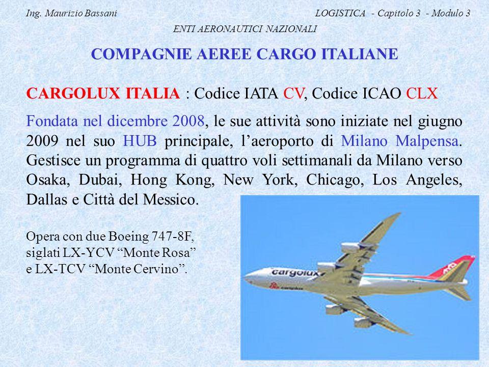 COMPAGNIE AEREE CARGO ITALIANE