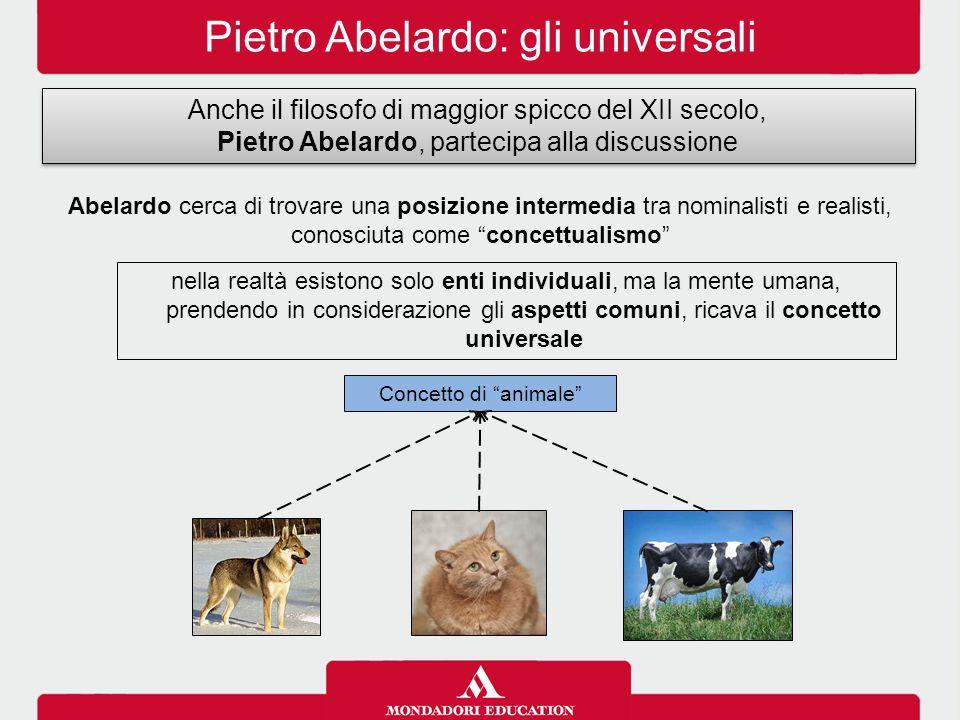 Pietro Abelardo: gli universali