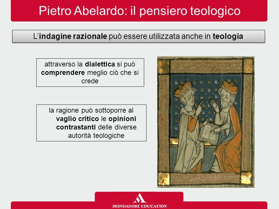 Pietro Abelardo: il pensiero teologico