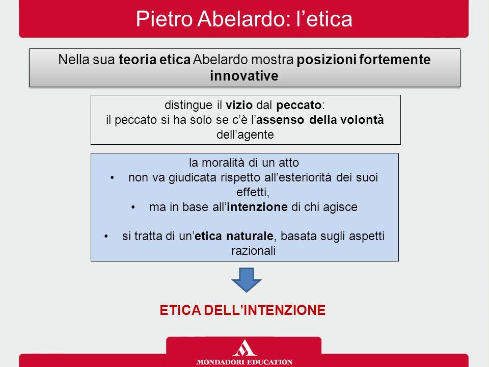 ETICA DELL'INTENZIONE