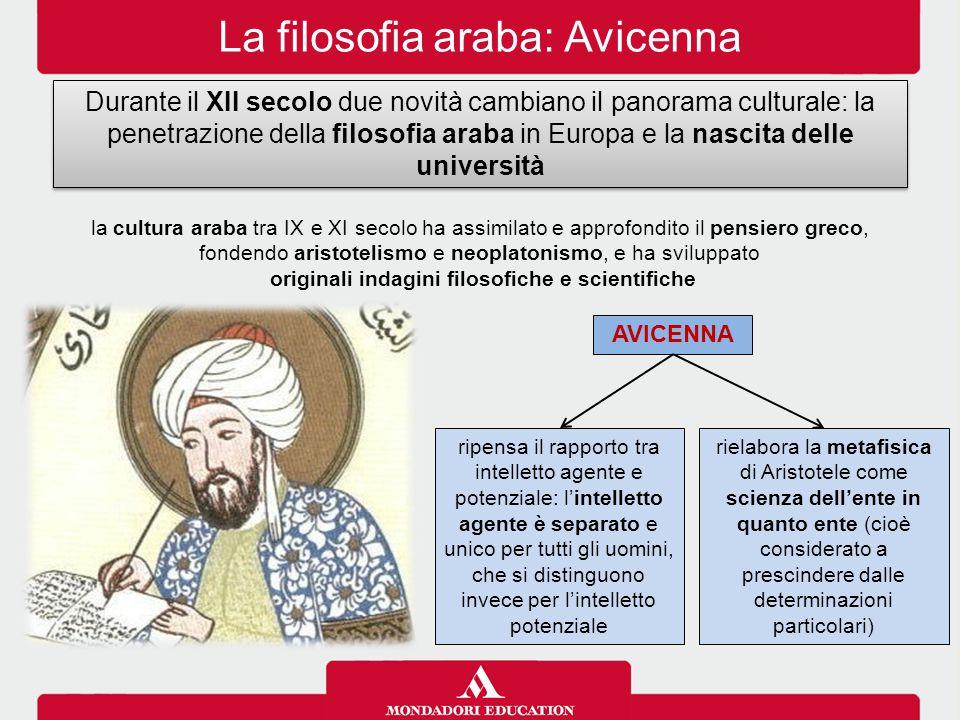La filosofia araba: Avicenna