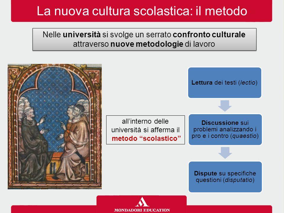La nuova cultura scolastica: il metodo