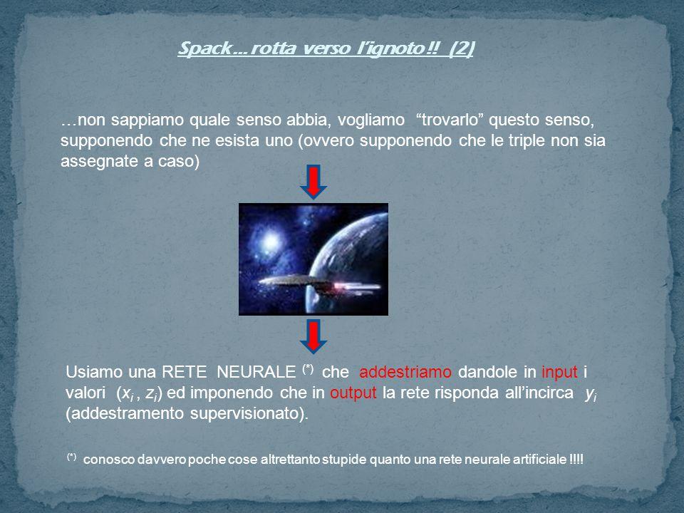 Spack … rotta verso l'ignoto !! (2)
