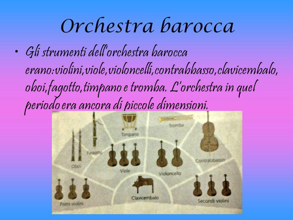 Orchestra barocca