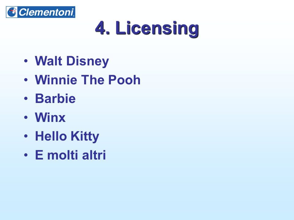 4. Licensing Walt Disney Winnie The Pooh Barbie Winx Hello Kitty