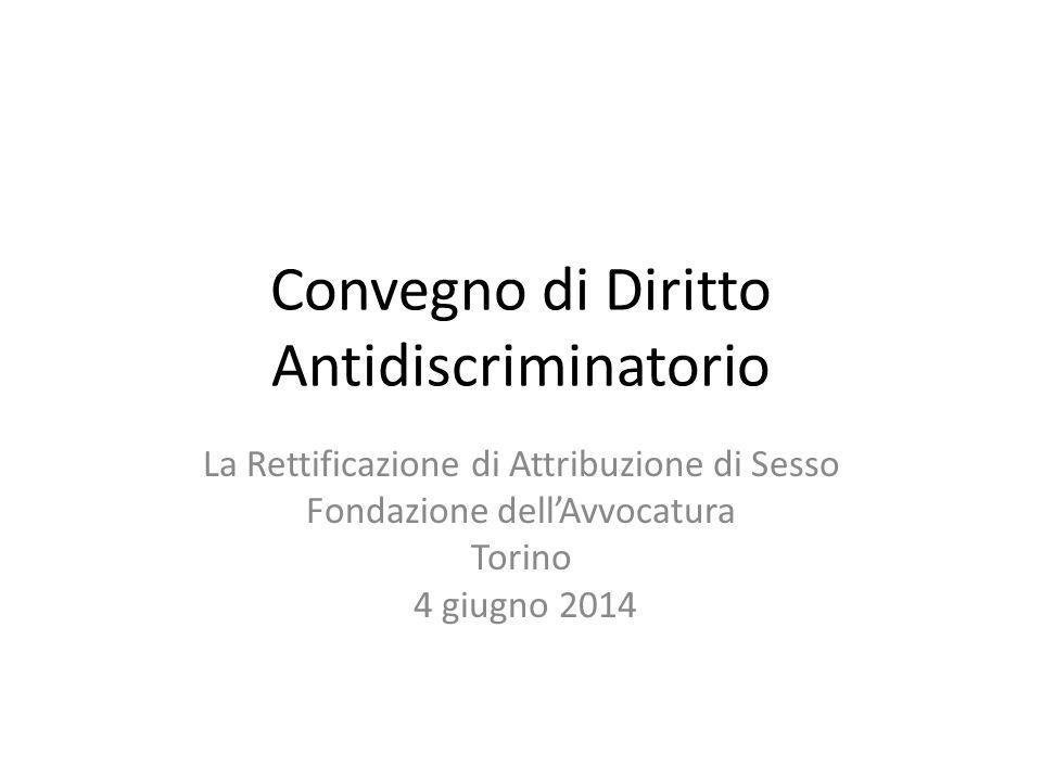 Convegno di Diritto Antidiscriminatorio