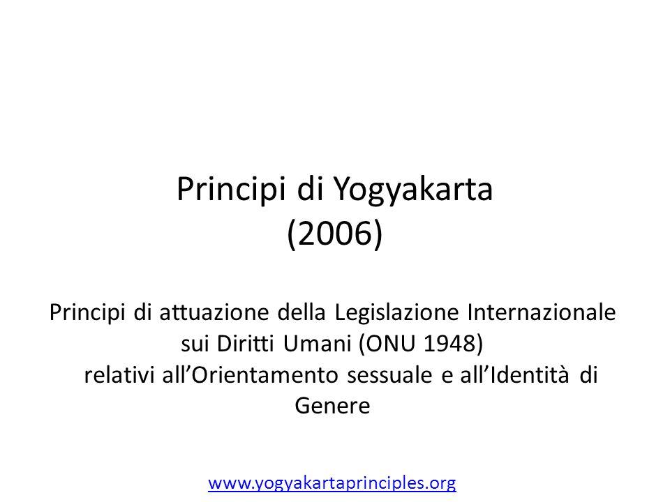 Principi di Yogyakarta (2006)