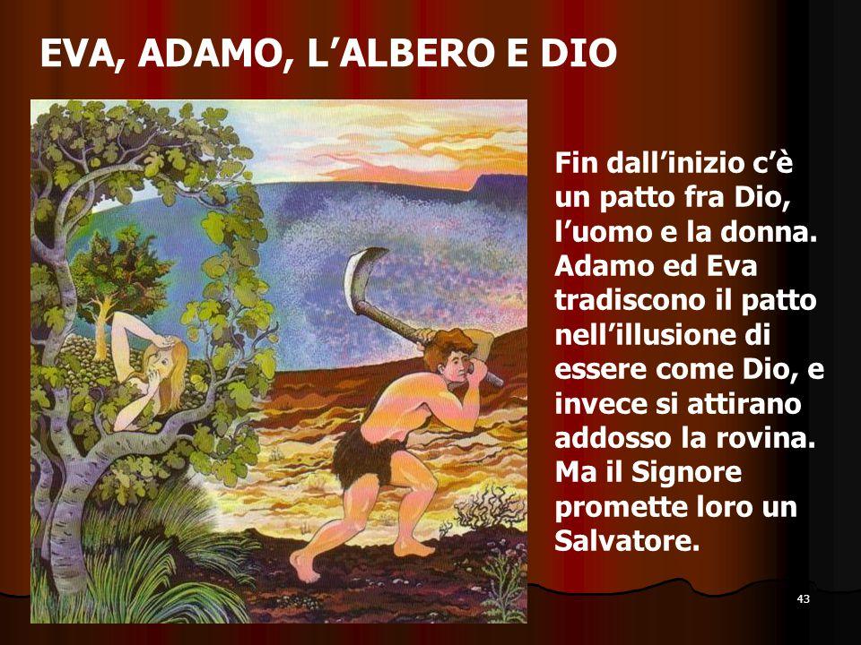 EVA, ADAMO, L'ALBERO E DIO