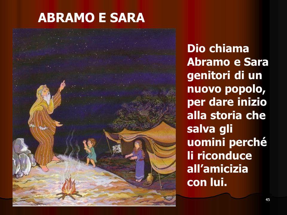 ABRAMO E SARA