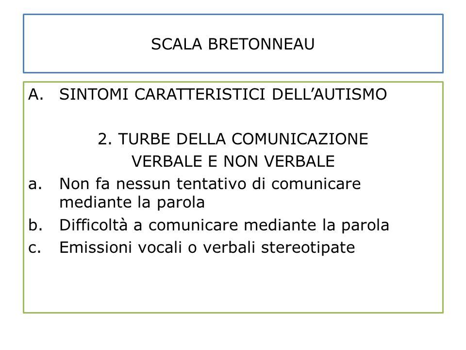 2. TURBE DELLA COMUNICAZIONE