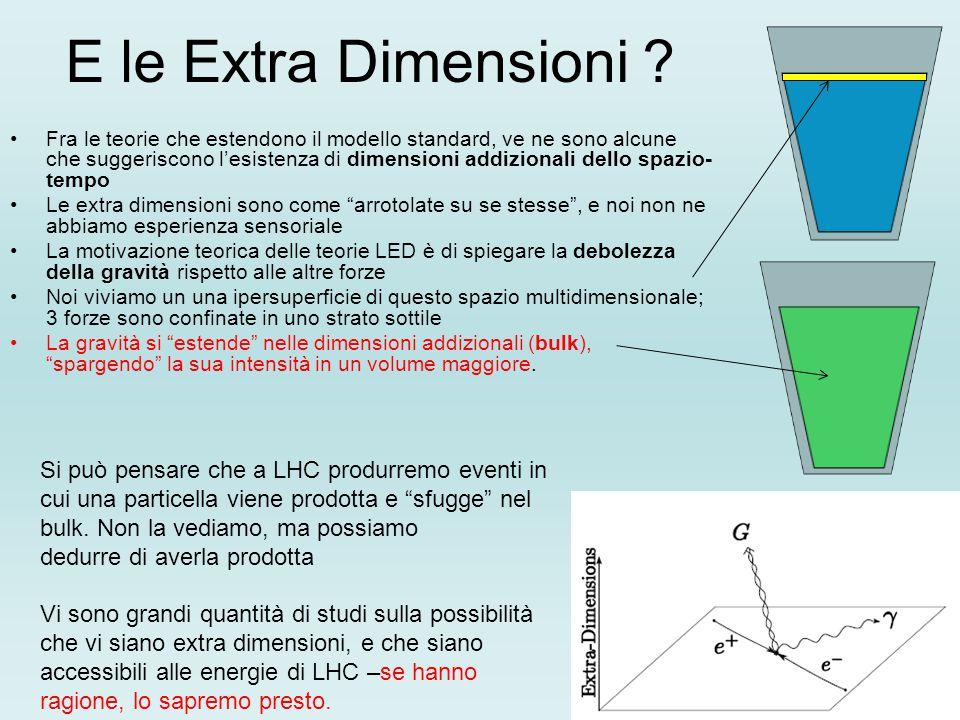 E le Extra Dimensioni