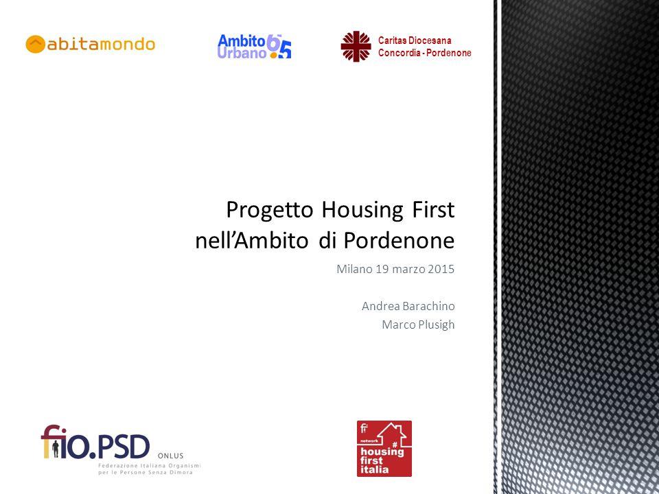 Progetto Housing First nell'Ambito di Pordenone