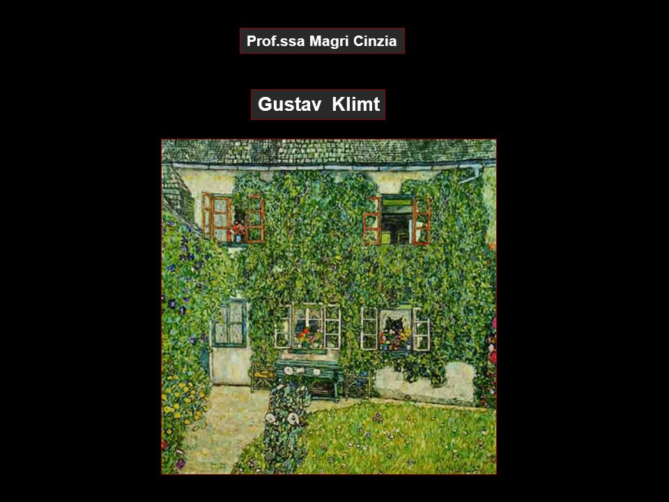 Prof.ssa Magri Cinzia Gustav Klimt