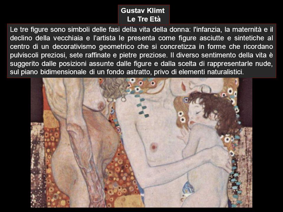 Gustav Klimt Le Tre Età.