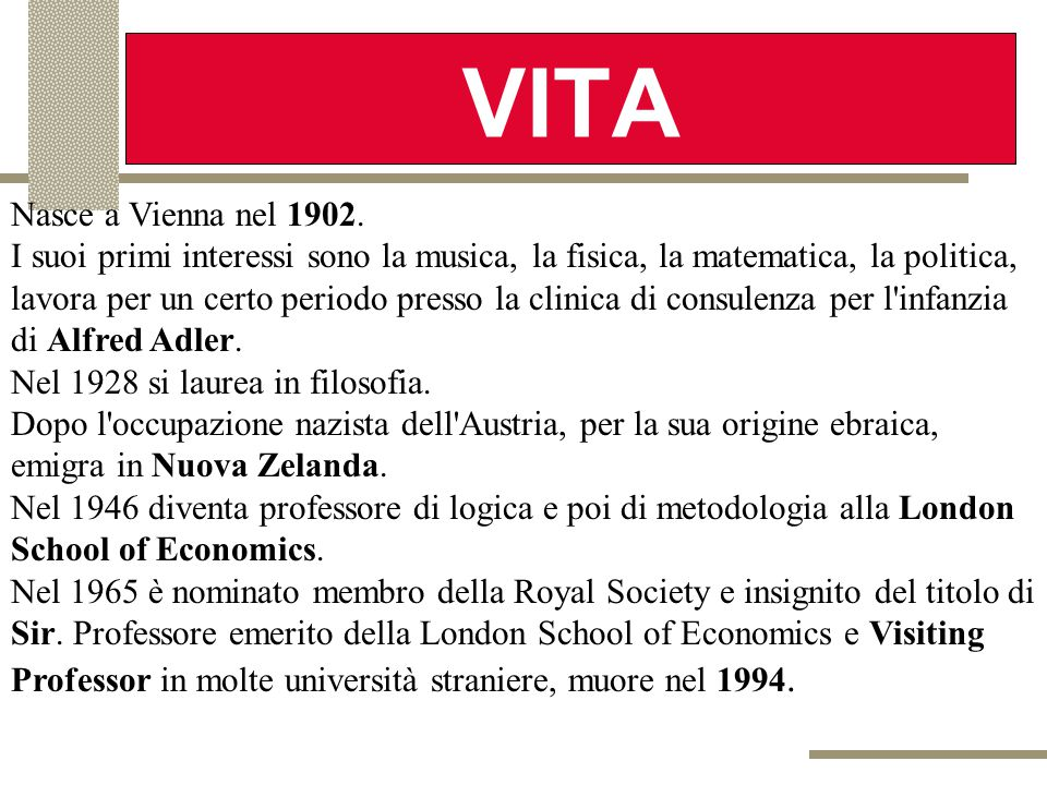 VITA Nasce a Vienna nel 1902.