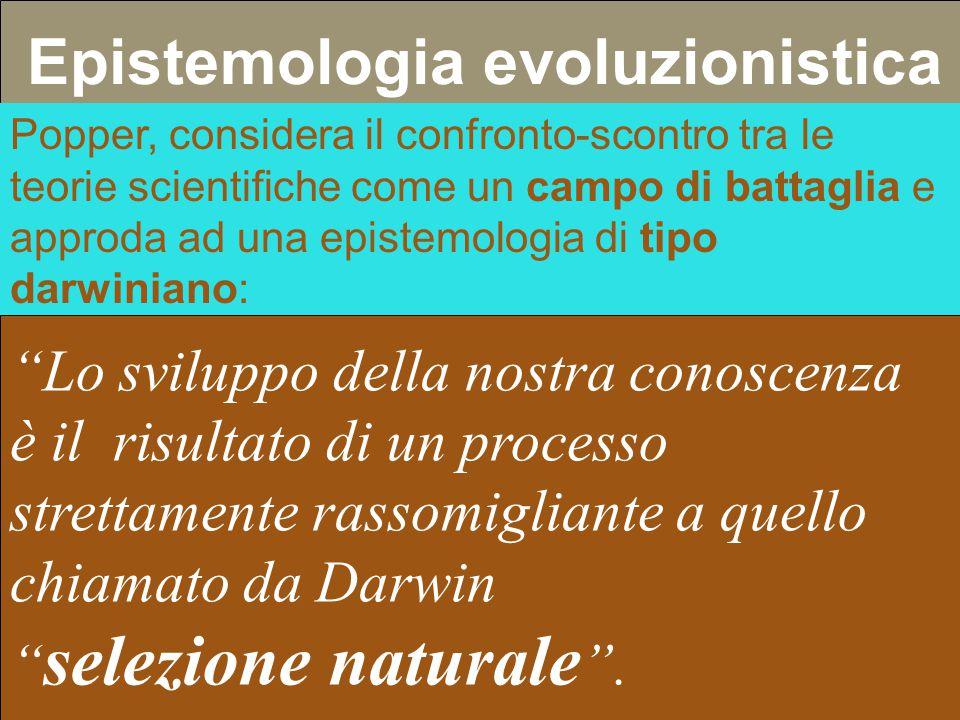 Epistemologia evoluzionistica