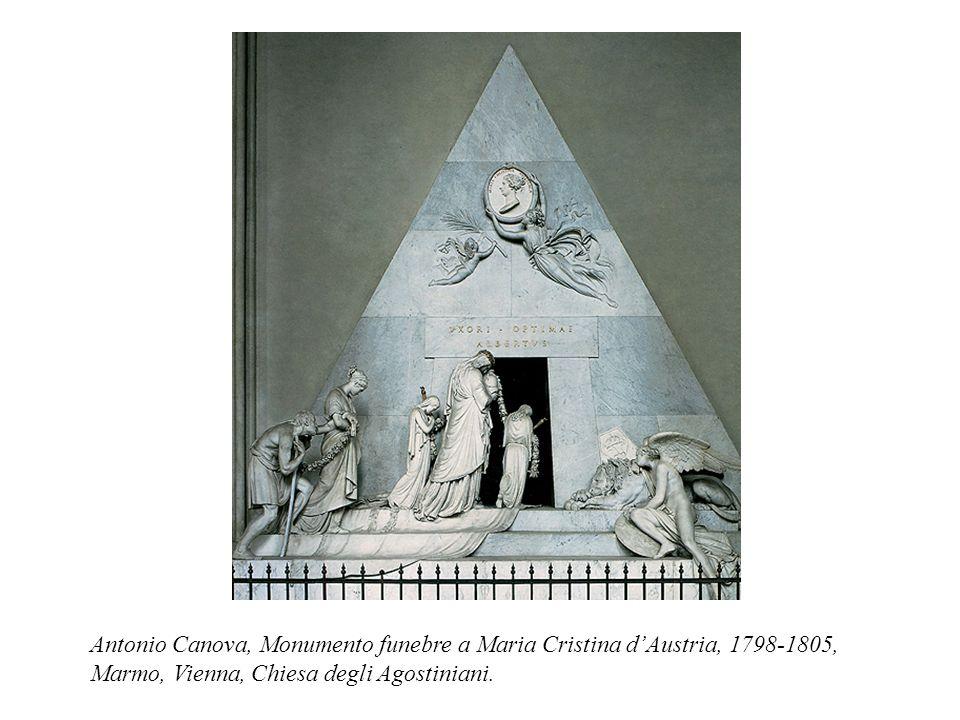 Antonio Canova, Monumento funebre a Maria Cristina d'Austria, 1798-1805, Marmo, Vienna, Chiesa degli Agostiniani.