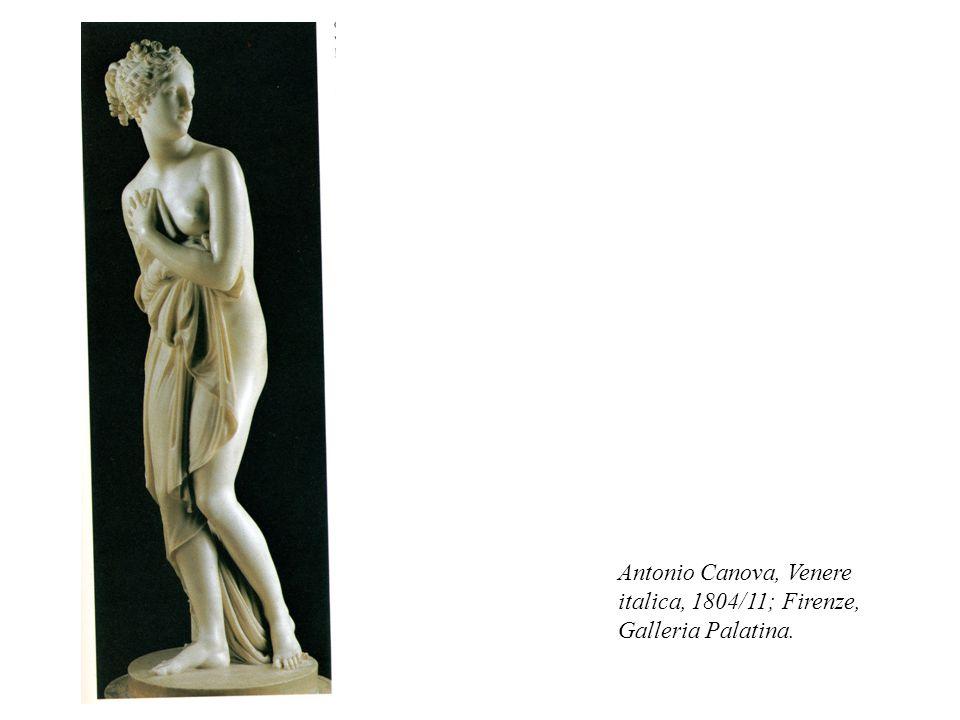 Antonio Canova, Venere italica, 1804/11; Firenze, Galleria Palatina.
