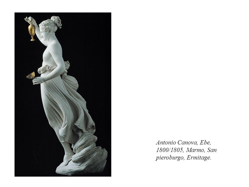 Antonio Canova, Ebe, 1800/1805, Marmo, San pieroburgo, Ermitage.