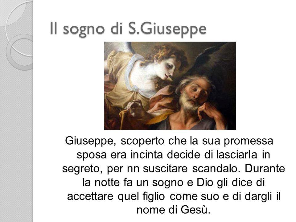 Il sogno di S.Giuseppe